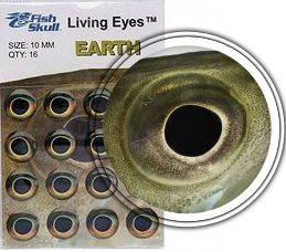 FishSkull Living Eyes Earth