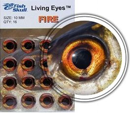 FishSkull Living Eyes Fire